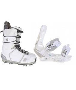 Burton Triad Snowboard Bindings w/ Burton Hail Snowboard Boots