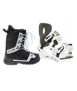 Sapient Stash Snowboard Bindings w/ Arctic Edge 1080 Snowboard Boots