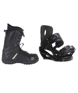 Sapient Wisdom Snowboard Bindings w/ Sapient Method Speed Lace Snowboard Boots