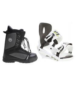 Sapient Stash Snowboard Bindings w/ Sapient Guide Snowboard Boots