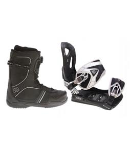 LTD LT35 Snowboard Bindings w/ Morrow Kick BOA Snowboard Boots