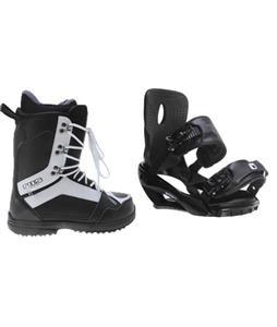 Sapient Wisdom Snowboard Bindings w/ 2117 Holmestad Snowboard Boots