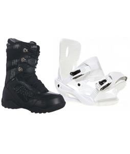 Sapient Zeus Snowboard Bindings w/ Lamar Justice Snowboard Boots