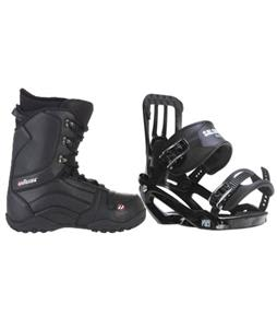 Salomon Pact Snowboard Bindings w/ House Transition Snowboard Boots