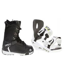 Sapient Stash Snowboard Bindings w/ Sapient Yeti Snowboard Boots