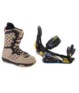 Rome S90 Snowboard Bindings w/ Burton Shaun White Collection Snowboard Boots