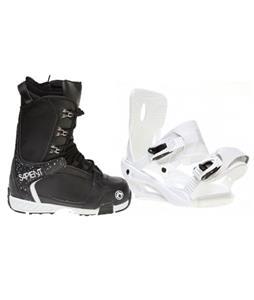 Sapient Zeus Snowboard Bindings w/ Sapient Yeti Snowboard Boots