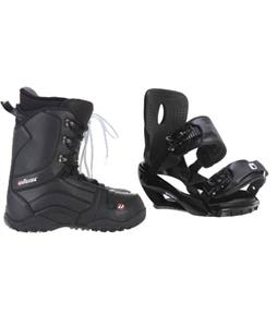 Sapient Wisdom Snowboard Bindings w/ House Transition Snowboard Boots