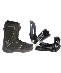 Lamar MX30 Snowboard Bindings w/ Morrow Kick BOA Snowboard Boots