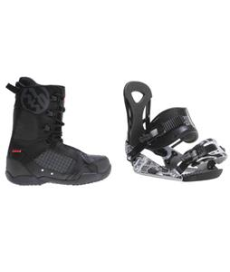 Ride LX Snowboard Bindings w/ 5150 Squadron Snowboard Boots