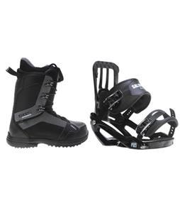 Salomon Pact Snowboard Bindings w/ 2117 Holmestad Snowboard Boots
