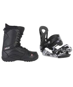 Ride LX Snowboard Bindings w/ House Transition Snowboard Boots