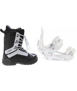 Ride EX Snowboard Bindings w/ 2117 Holmestad Snowboard Boots