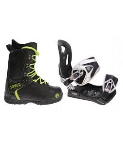 LTD LT35 Snowboard Bindings w/ Sapient Yeti Snowboard Boots