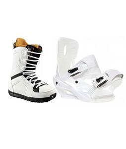 Sapient Zeus Snowboard Bindings w/ Burton TWC Snowboard Boots
