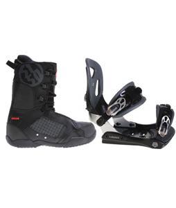 Lamar MX30 Snowboard Bindings w/ 5150 Squadron Snowboard Boots