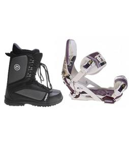Technine MFM Pro Snowboard Bindings w/ Sapient Guide Snowboard Boots