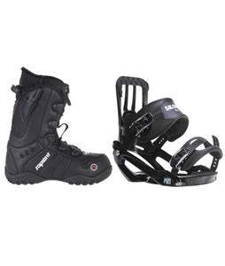 Salomon Pact Snowboard Bindings w/ Sapient Method Speed Lace Snowboard Boots