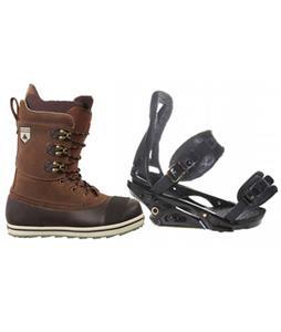Burton P1.1 Snowboard Bindings w/ Burton Ox Snowboard Boots