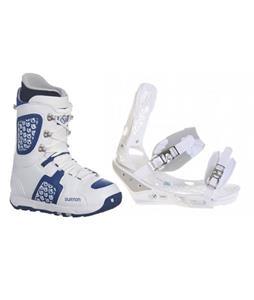 Burton Triad Snowboard Bindings w/ Burton Freestyle Snowboard Boots