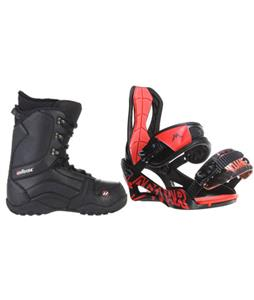 Lamar Wrap Snowboard Bindings w/ House Transition Snowboard Boots