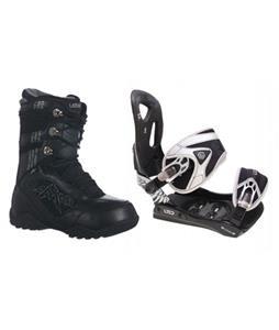 LTD LT35 Snowboard Bindings w/ Lamar Justice Snowboard Boots