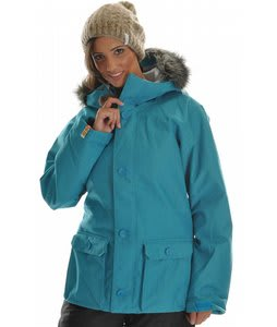 Bonfire Arena Snowboard Jacket Glacier