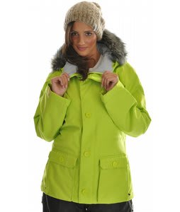 Bonfire Aura Snowboard Jacket Citron