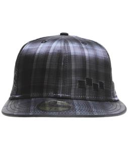 Foursquare Plaidern New Era Cap Black Plaidern