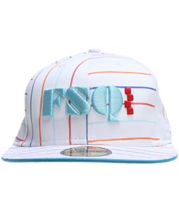 Foursquare Stripe A Poppin New Era Cap White