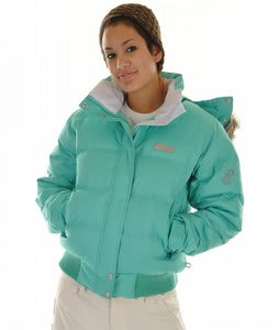 Special Blend Lux Fluff Snowboard Jacket Coral Blue