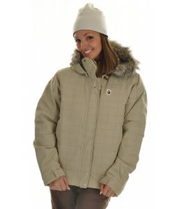 Special Blend Fluff Snowboard Jacket Castle Wall Check Grid
