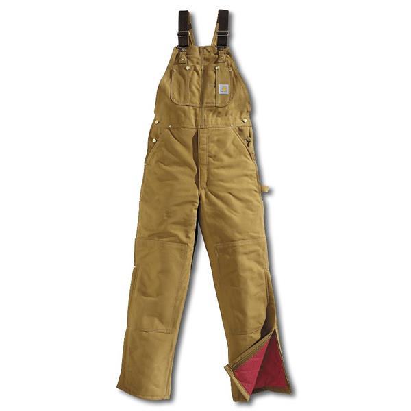 Carhartt Duck Bib-Quilt Lined Overalls