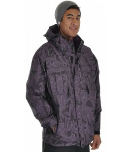 Special Blend Signature Snowboard Jacket Black Fader Flage