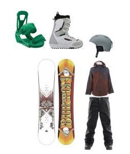 full snowboarding
