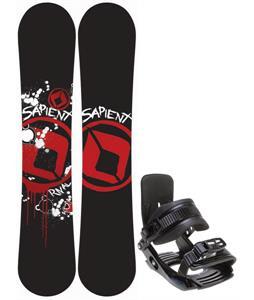 Sapient Rival Snowboard w/ Salomon Team Bindings