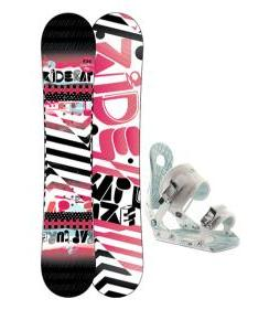 Ride Rapture Snowboard w/ Ride LXH Bindings