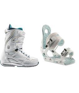 Burton Sapphire Snowboard Boots w/ Ride LXH Bindings