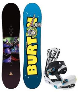 Burton Chopper Toy Story Snowboard w/ Burton Mission Smalls Bindings