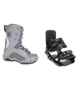 Salomon Team Snowboard Bindings w/ Lamar Force Snowboard Boots