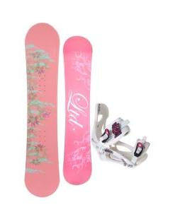 LTD Belle Snowboard w/ LTD LT250 Bindings