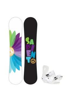 Sapient Color Wheel Snowboard w/ Sapient Zeta Bindings