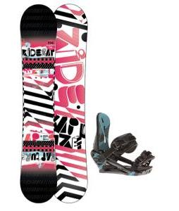 Ride Rapture Snowboard w/ Morrow Sky Bindings