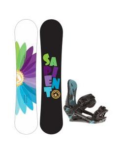 Sapient Color Wheel Snowboard w/ Morrow Sky Bindings