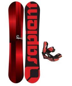 Sapient Fader Snowboard w/ Lamar Wrap Bindings