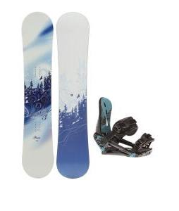 M3 Free Snowboard w/ Morrow Sky Bindings