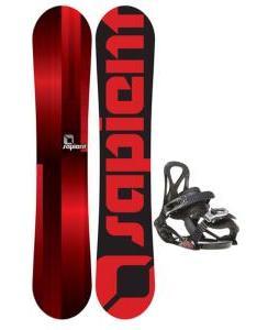 Sapient Fader Snowboard w/ Sapient Prodigy Bindings