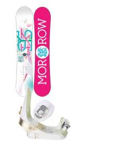 Morrow Sky Snowboard w/ Morrow Lotus Bindings