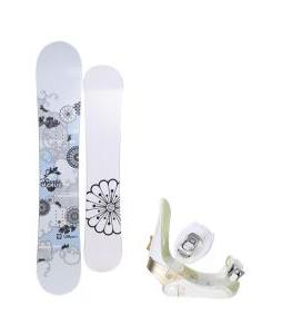 Santa Cruz Muse Snowboard w/ Morrow Lotus Bindings