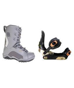 Morrow Invasion Snowboard Bindings w/ Lamar Force Snowboard Boots